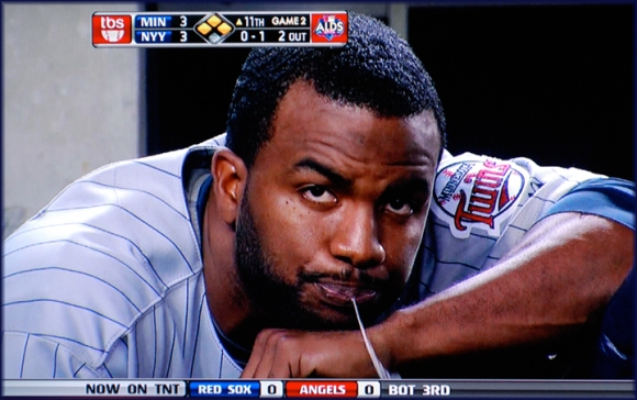 Denard Span's saliva is worth its weight in saliva.