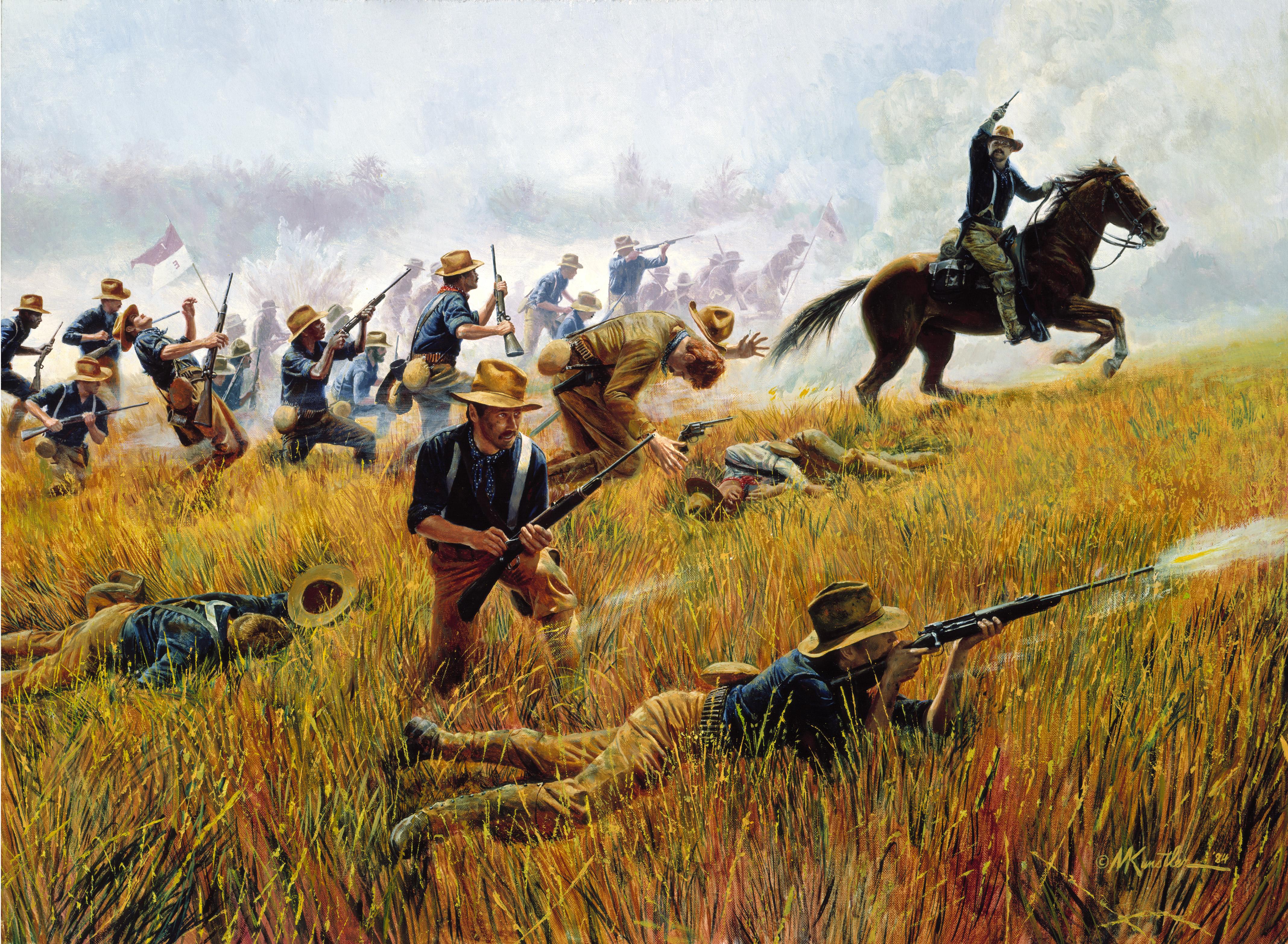 Army - 1st U.S. Volunteer Cavalry Regiment (U.S.)